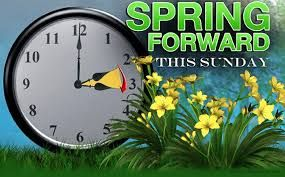 March 10 begins both Lent and Daylight Savings Time